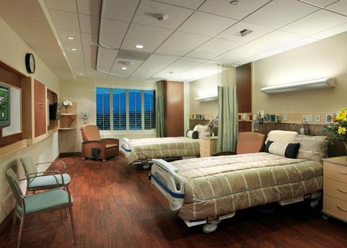 Annenberg Pavilion Patient Room Design by Jain Malkin Inc